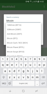 Search cryptocion